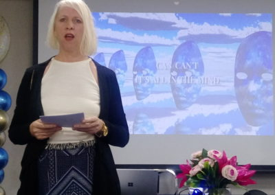 Speaking at International Academy of Wealth Basecamp.